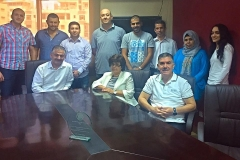 photo of main colleagues of AL-Mustakella for research group