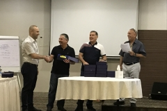 Honoring our valuable team members in our last annual conference in Erbil