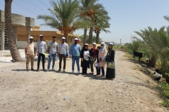 One of our teams in Baghdad